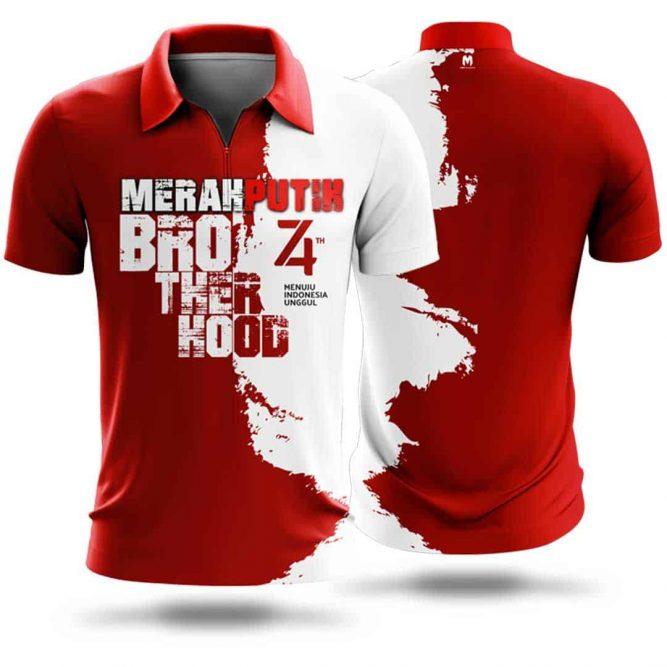 Kaos 74 indonesia Merdeka